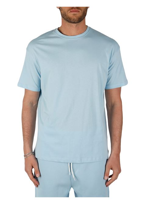 LIGHT BLUE COTTON T-SHIRT THE FUTURE |  | TF0004CELESTE
