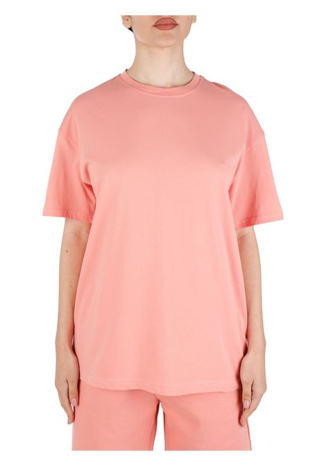SALMON T-SHIRT IN COTTON THE FUTURE |  | TF0004ROSA