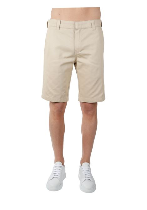 CHINO BERMUDA IN COTTON THE FUTURE |  | TF0019BEIGE