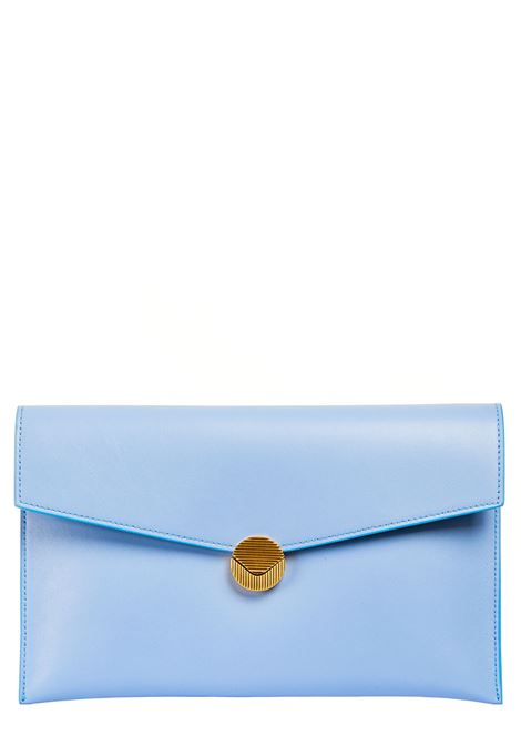 SKY LEATHER CLUTCH VISONE |  | PATTYLEATHERBIGARTIC