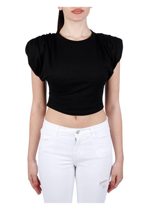 T-SHIRT CROP IN COTONE weili zheng | T-shirt | SWZTT36N01