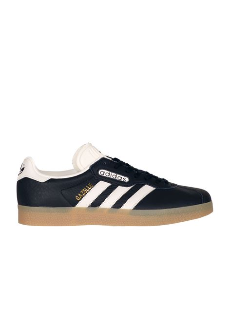 SNEAKERS 'GAZELLE' LEATHER BOAR ADIDAS | Sneakers | BB5244gazellesuperBLACK/WHITE