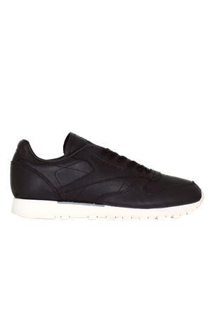 SNEAKERS IN PELLE REEBOK | Sneakers | BD1906reebokBLACK/WHITE