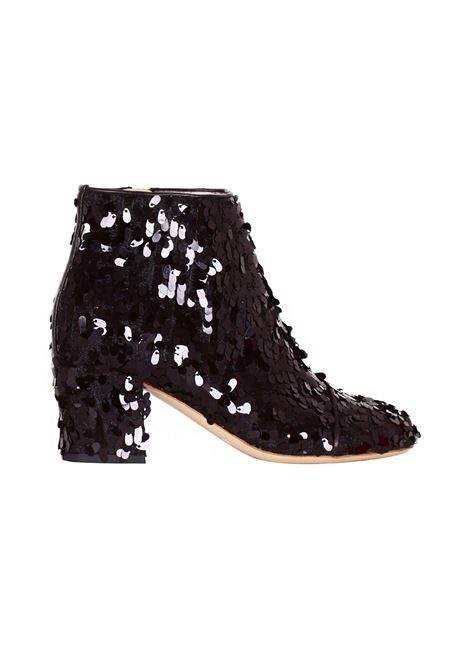 TRONCHETTO IN PAILLETTES ALBERTO GOZZI | Shoes | A552186MARNERO02