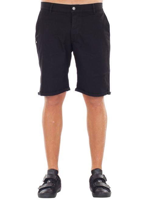 BERMUDA IN COTONE DANIELE ALESSANDRINI | Bermuda Shorts | PJ5188L10037001