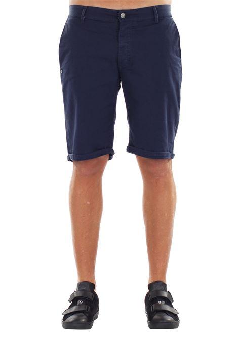 BERMUDA IN COTONE DANIELE ALESSANDRINI | Bermuda Shorts | PJ5188L100370023