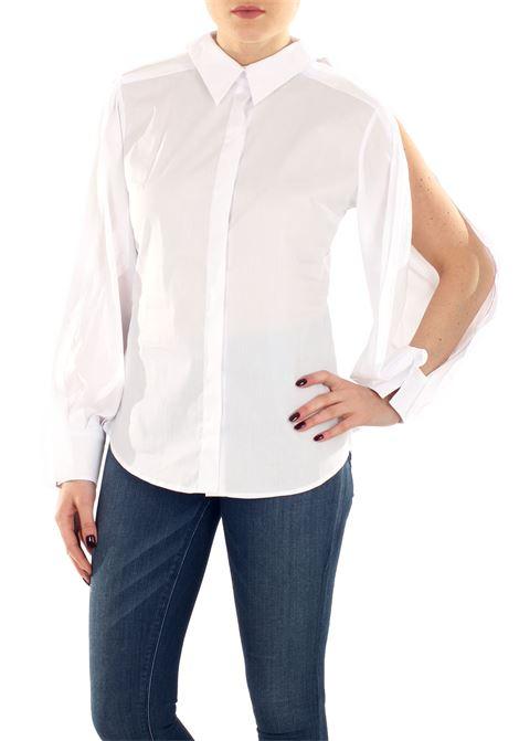 CAMICIA IN COTONE BALOSSA | Shirts | BA0094EEVAWHITE