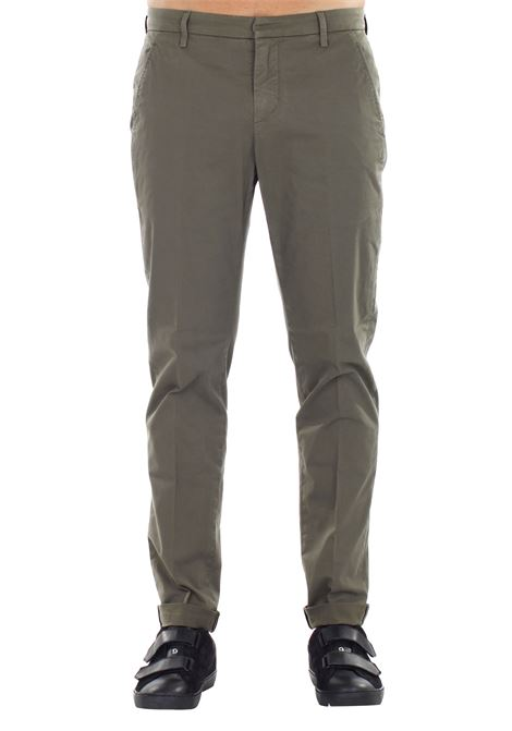 PANTALONE 'GAUBERT' IN COTONE DONDUP | Pants | UP235GS021UPTDDUS17633
