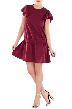 DRESS WITH PEPLUM DOU DOU | Dress | 1403582214