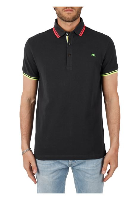 COTTON POLO ETRO | Polo Shirts | 1Y60093622