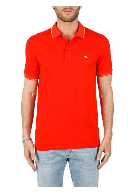 COTTON POLO ETRO | Polo Shirts | 1Y6009369601