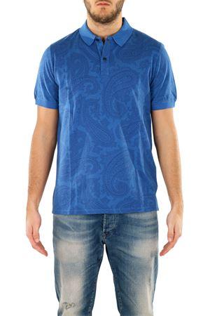 COTTON POLO ETRO | Polo Shirts | 1Y6009371201