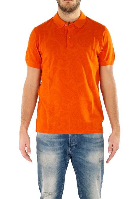 COTTON POLO ETRO | Polo Shirts | 1Y6009371752
