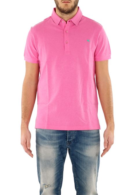 COTTON POLO ETRO | Polo Shirts | 1Y6009372651