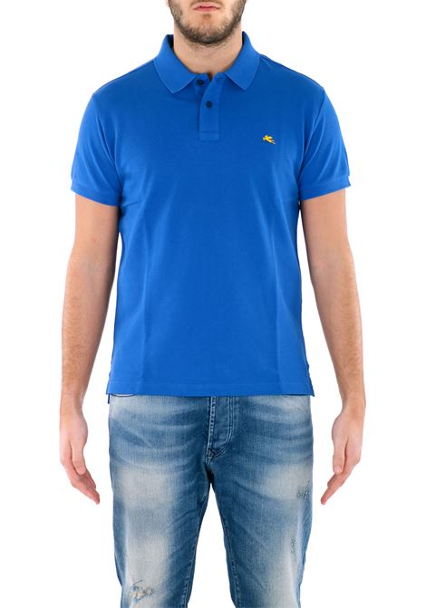 COTTON POLO ETRO | Polo Shirts | 1Y6019367201