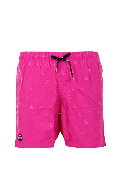 SWIMSUIT SHORT F**k | Swimsuits | GV17001Ufucsia