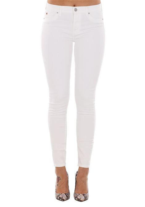 JEANS 'NICO' IN COTONE HUDSON | Jeans | WMA407TEQWHTWHITE