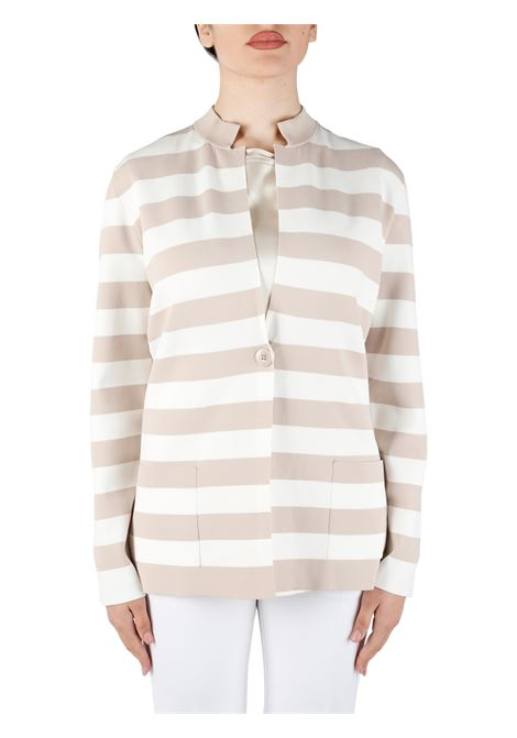 JACKET WITH STRIPED PATTERN KANGRA |  | 392257003