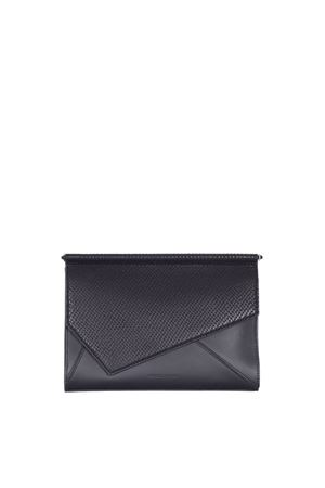 POCHETTE 'GINZA' IN PELLE KENDALL+KYLIE | Clutches | GINZABLACK
