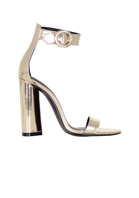 SANDALO 'GISELLE' IN PELLE KENDALL+KYLIE | Sandals | KKGISELLE/05GOLD LEATHER