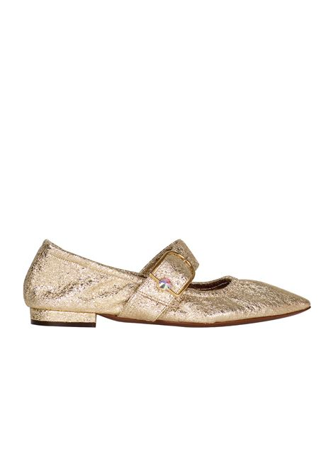 BALLERINA IN FERRER L'AUTRE-CHOSE | Shoes | OSE29515CP23385003ORO