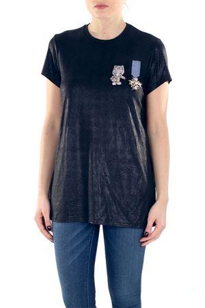 T-SHIRT CON APPLICAZIONI DI SWAROVSKI L'EDITION | T-shirt | LE290R32999