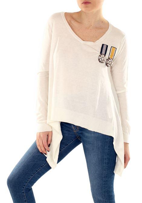 MAGLIA IN COTONE E SETA L'EDITION | Sweaters | LE295R340002