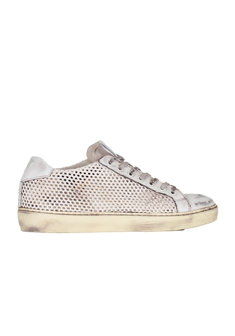 SNEAKERS IN CERVO TRAFORATO LEATHER CROWN | Sneakers | MLC832
