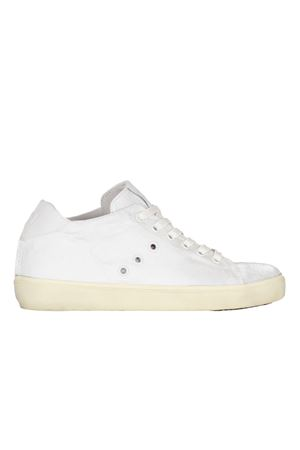 SNEAKERS IN SETA LEATHER CROWN | Sneakers | W136138