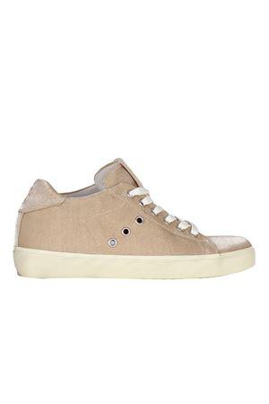 SNEAKERS IN SETA LEATHER CROWN | Sneakers | W136139