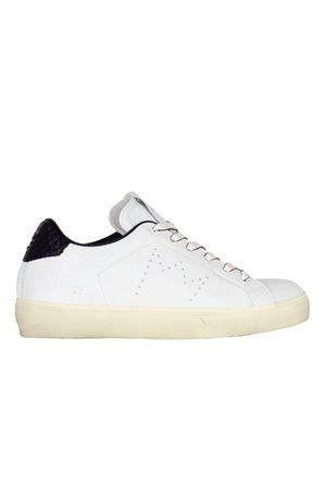 SNEAKERS IN CERVO LEATHER CROWN | Sneakers | WLC0627