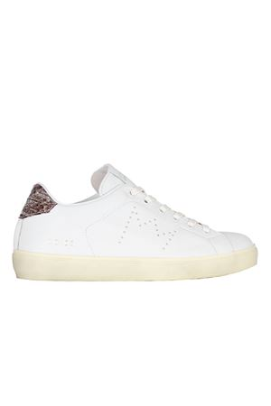 SNEAKERS IN CERVO LEATHER CROWN | Sneakers | WLC0633
