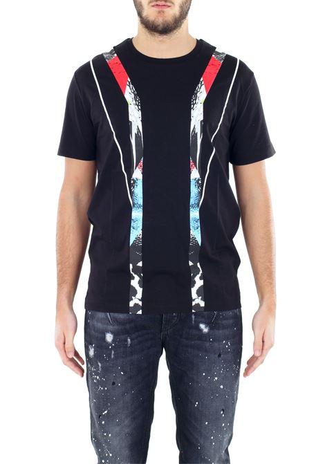 COTTON T-SHIRT LES HOMMES | T-shirt | URC800PUC802B9005