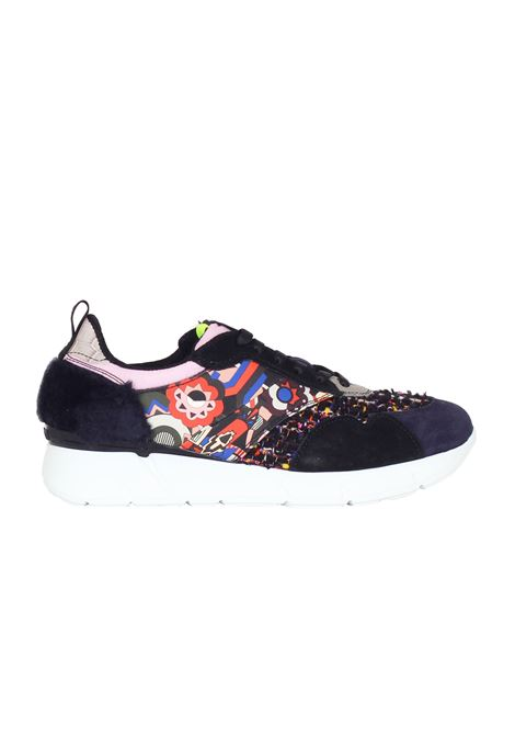 SNEAKERS IN MICROFANTASIA MSGM | Shoes | 1941MDS10074FANTASIA