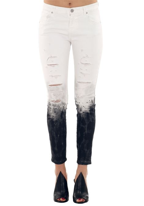 STRETCH DRILL PANTS PINKO | Jeans | 10810B06YGEMERAPJ9190