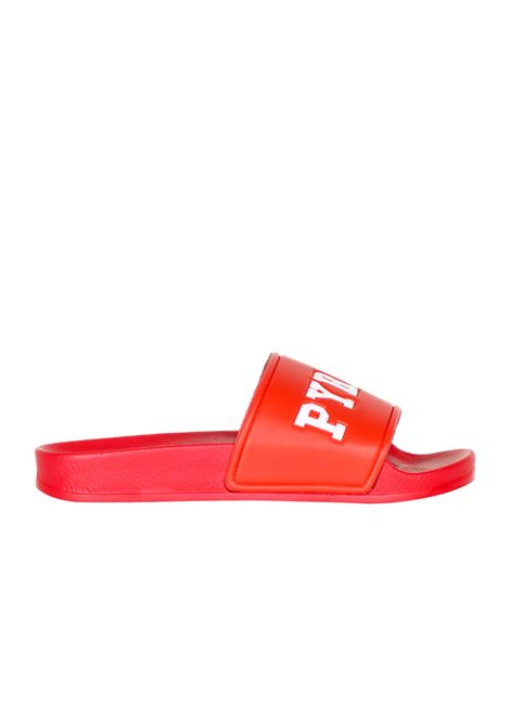 RUBBER SLIPPERS PYREX | Slide Sandals | PY6019ROSSO