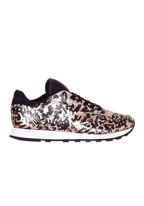 SNEAKERS IN PELLE REEBOK | Sneakers | BD4604ROSA/ORO/NERO