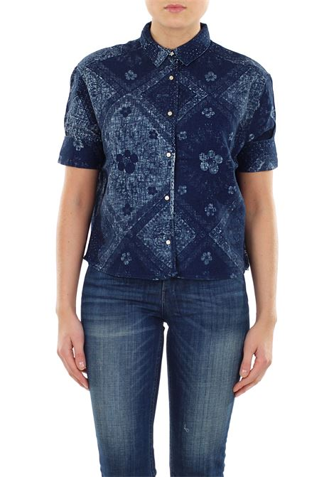 CAMICIA IN LINO E COTONE SCOTCH & SODA | Shirts | 13480317