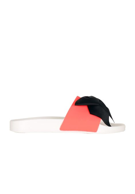 RUBBER SLIPPER SHOP*ART | Slide Sandals | 10006BIANCO