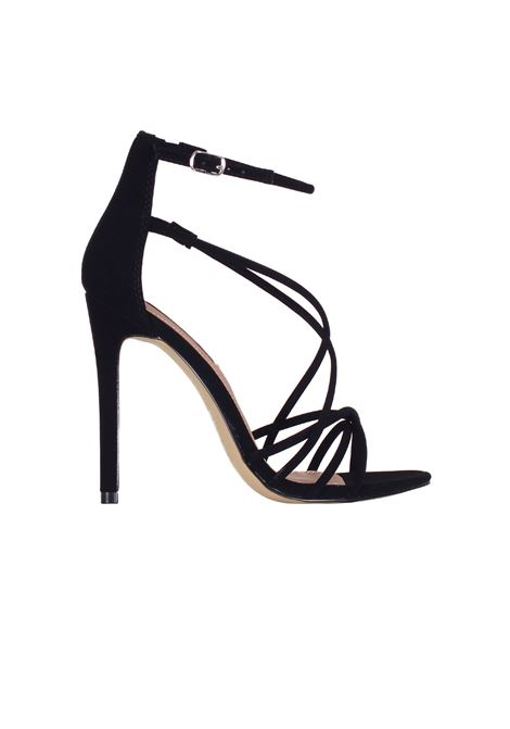 SANDALO IN SUEDE STEVE MADDEN | Sandals | SMSSATIREBLACK