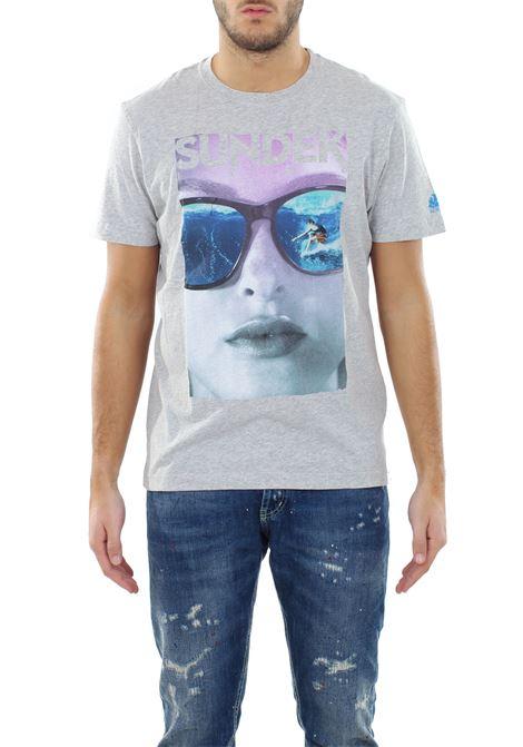 T-SHIRT 'SUNGLASSES' IN COTONE SUNDEK | T-shirt | M808TEJ6300029