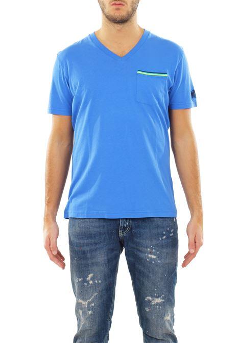 T-SHIRT 'WAREN-V-NECK' IN COTONE SUNDEK | T-shirt | M952TEJ6300254