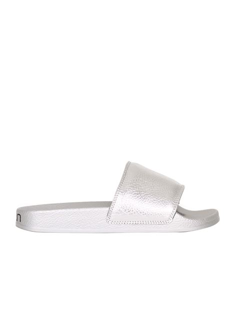 RUBBER SLIPPER TOWN | Slide Sandals | 171TWPMLOMBOKMONOSILVER