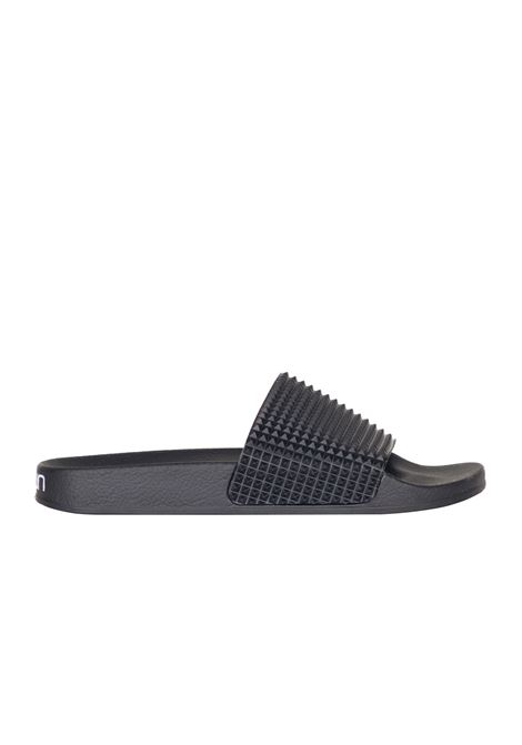 RUBBER SLIPPER TOWN | Slide Sandals | 171TWPPLOMBOKPLOTBLACK