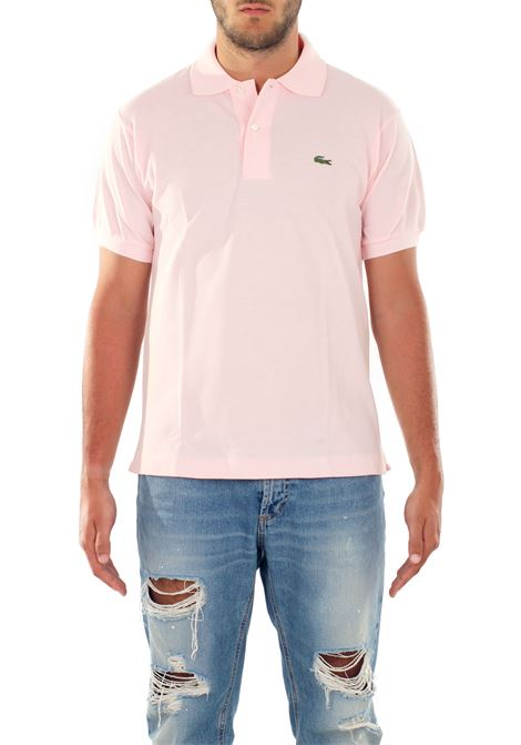 POLO IN COTONE Lacoste | Polo | L1212FLAMANTT03