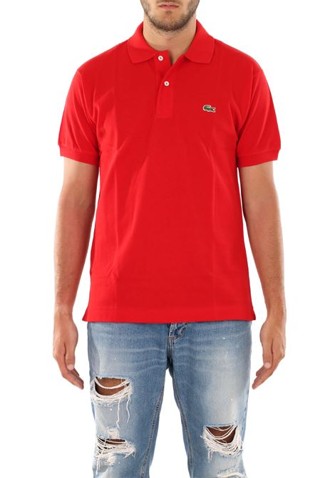 COTTON POLO Lacoste | Polo Shirts | L1212CRANBERRYWWQ