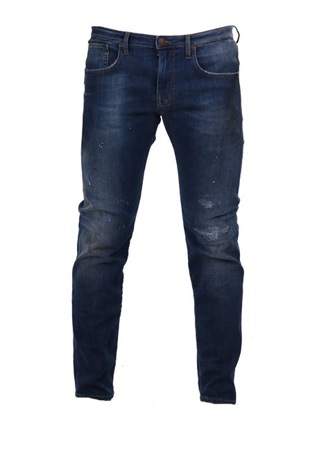 JEANS DENIM BLU (+)PEOPLE | Jeans | M031130A380L2427JEANS