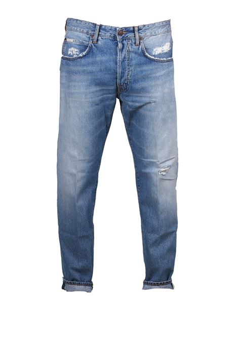JEANS IN DENIM CHIARO (+)PEOPLE | Jeans | M0364A168L2403JEANS