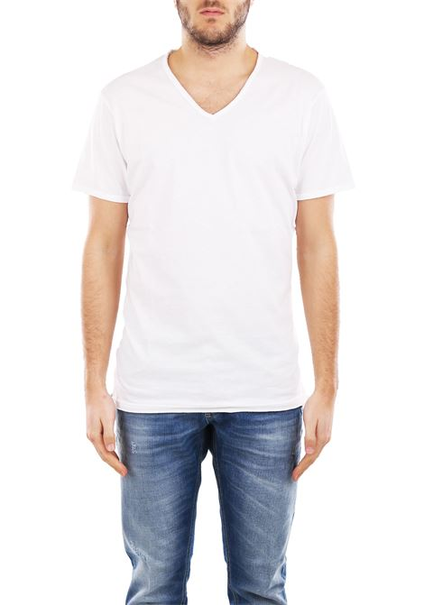T-SHIRT IN COTONE DANIELE ALESSANDRINI | T-shirt | M904338002