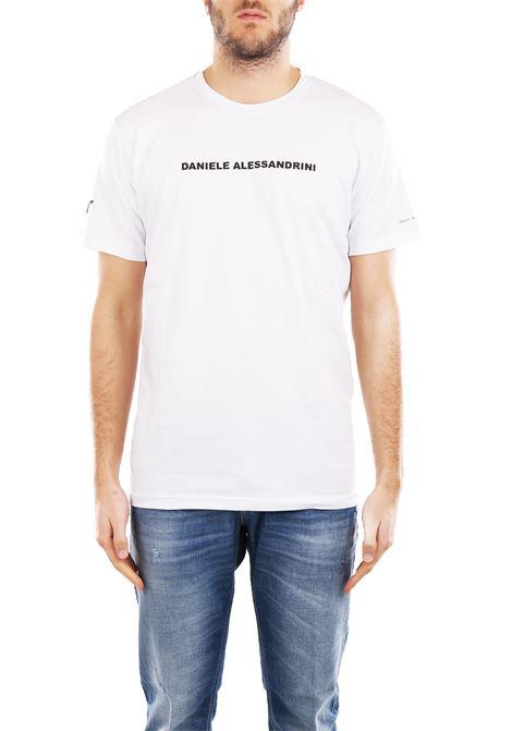 T-SHIRT IN COTONE DANIELE ALESSANDRINI | T-shirt | M904938002